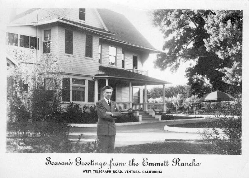 Emmett Rancho holiday card