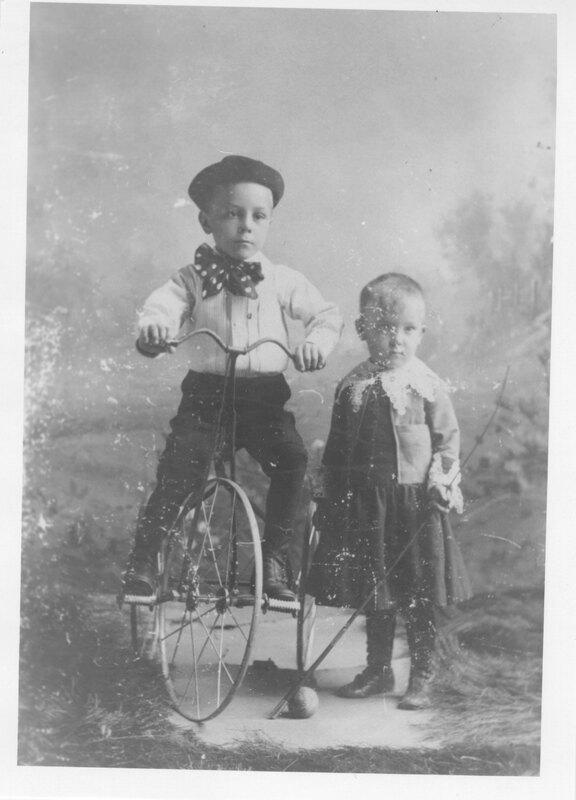 Portrait of Two Children