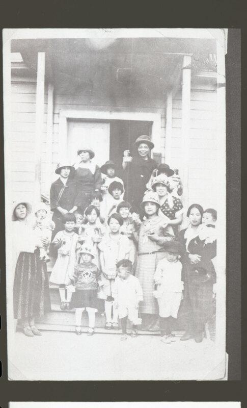 Japanese Methodist Church Women & Children