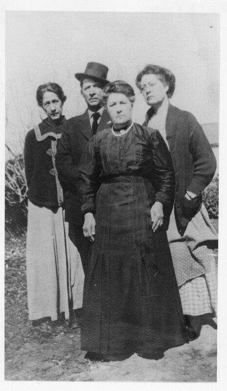 Group Photo of Three Women and a Man (Olivas Family)