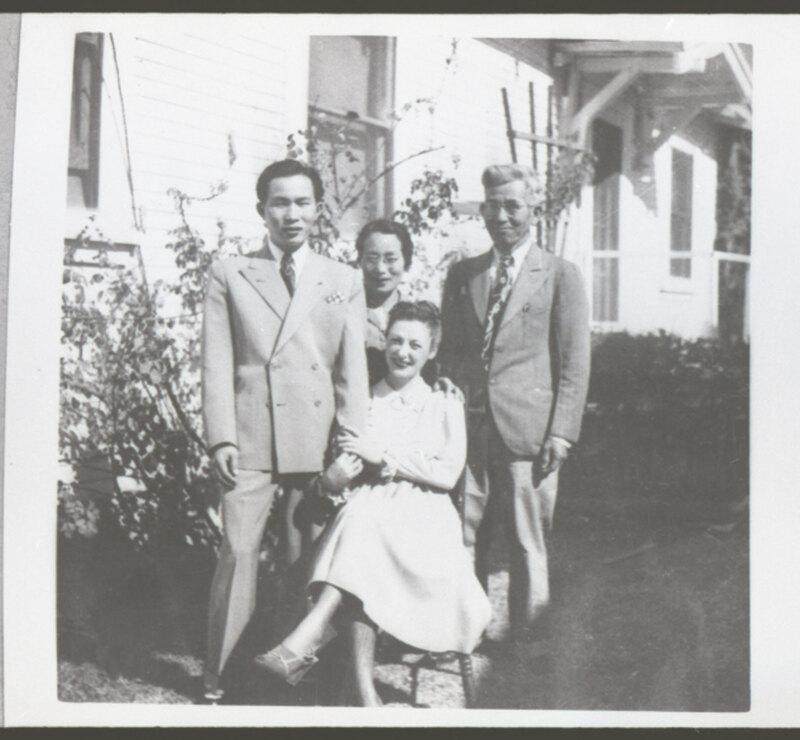 Mr. & Mrs. Knox Takasugi with Tono and Frank Takasugi