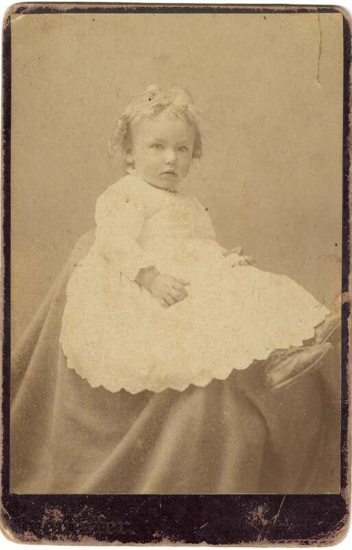 Fred Carlisle Snodgrass Baby Portrait