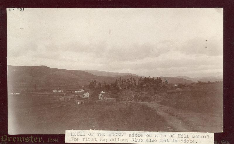 Adobe on site of Hill School