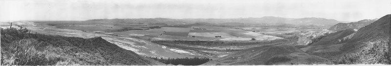 Flooded Area Saticoy to Santa Paula, 1928