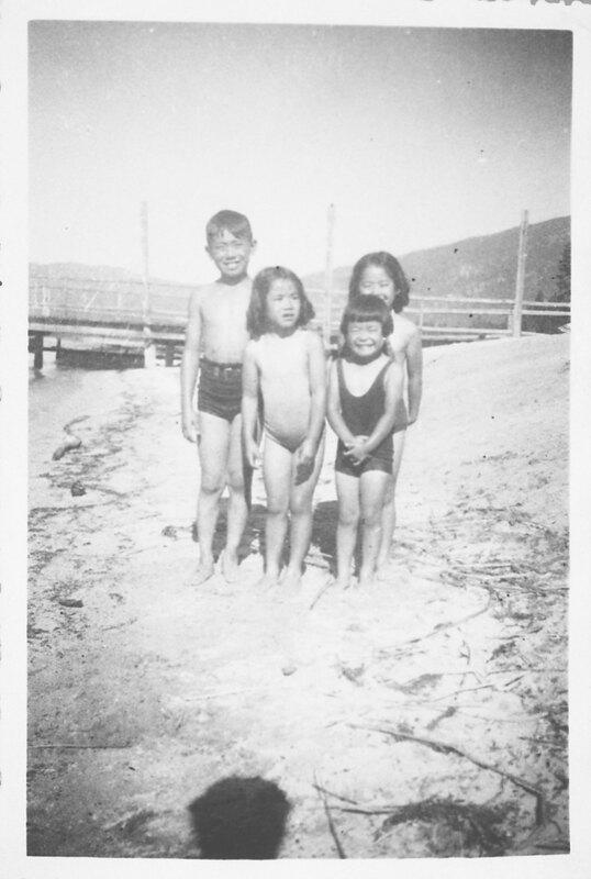 Inadomi Siblings at the Beach