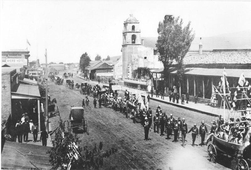 4th of July Parade, Ventura, 1876