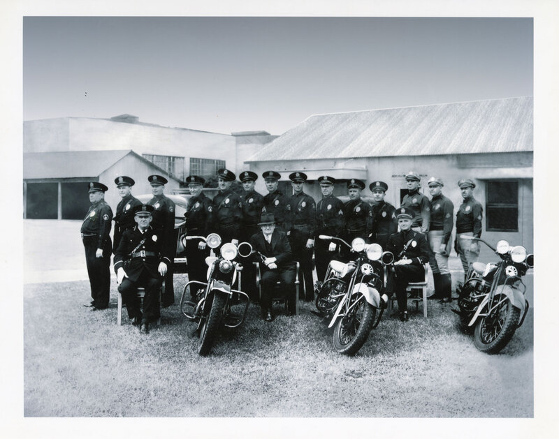 Ventura Police Department Group Photo digitally enhanced