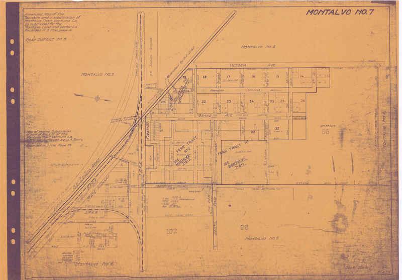 Montalvo #7 map