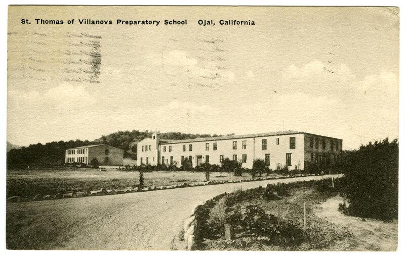 St. Thomas of Villanova Preparatory School post card