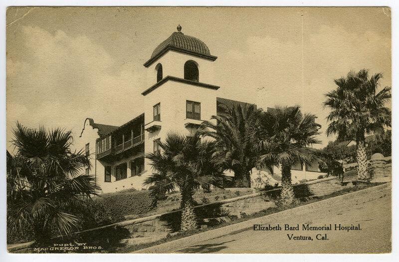 Elizabeth Bard Memorial Hospital Street View postcard