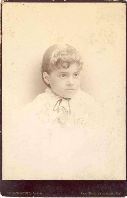 Pansy Augusta Brewster, Age 5