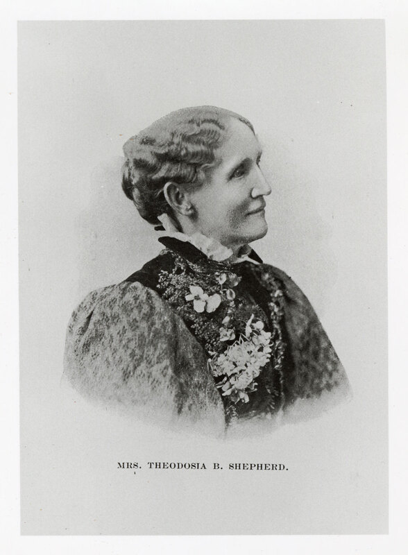 Portrait of Mrs. Theodosia B. Shepherd
