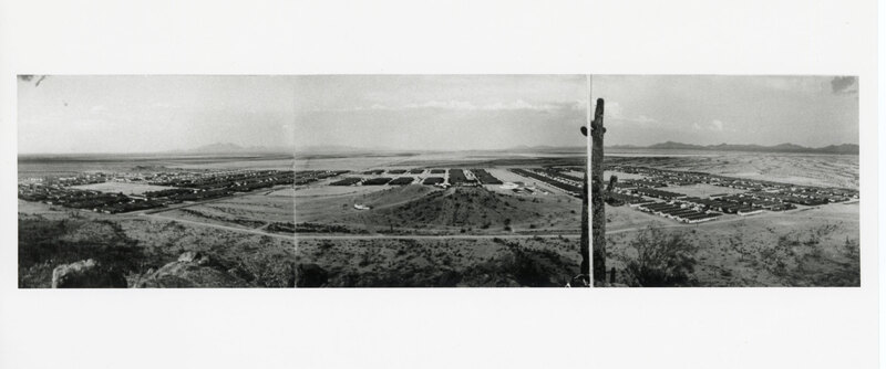 Aerial View of the Gila River Relocation Center