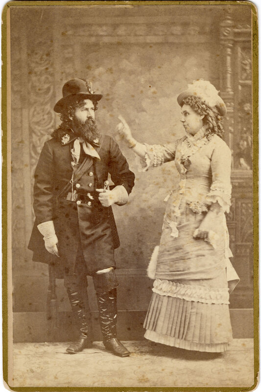 J.C. Brewster and Mrs. Hall in Pirates of Penzance