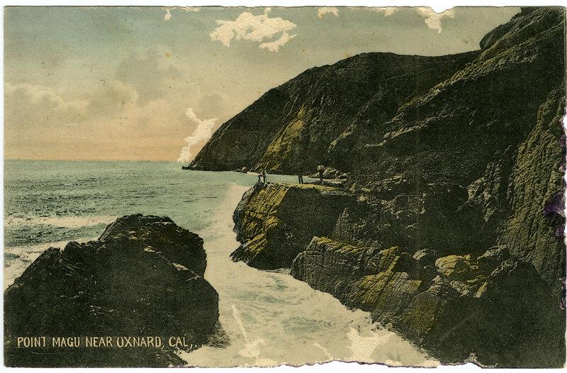 Point Mugu Near Oxnard postcard