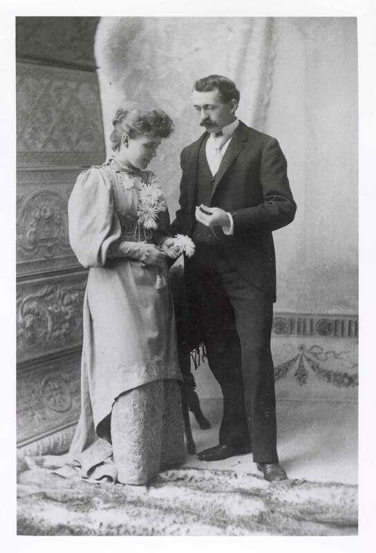 Myrtle Shepherd and Lee White Lloyd