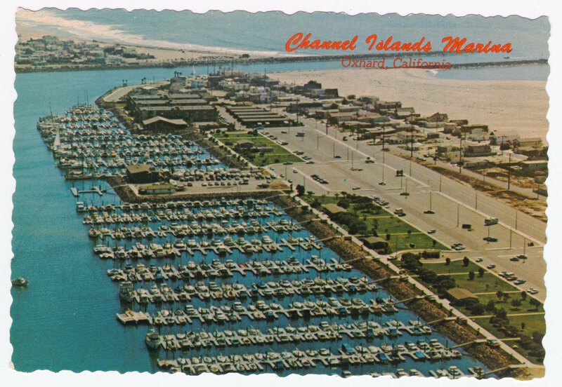 Channel Islands Marina postcard