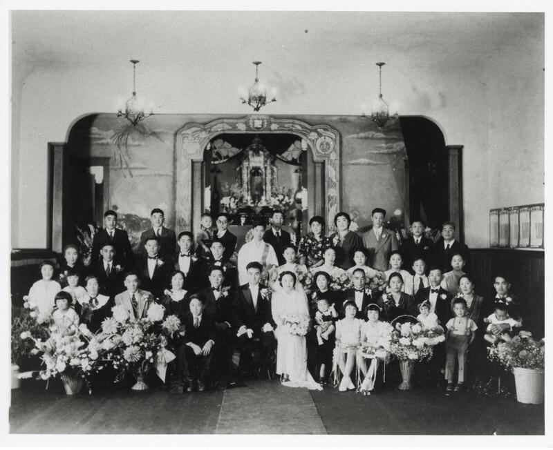 Wataru and Shizue Tagami Wedding