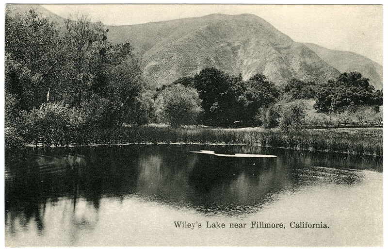 Wiley's Lake near Fillmore, California
