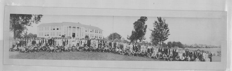 Santa Paula High School Group Portrait