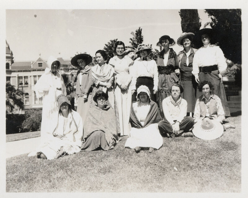 Golden West Days 1934, Library Staff Group Photo
