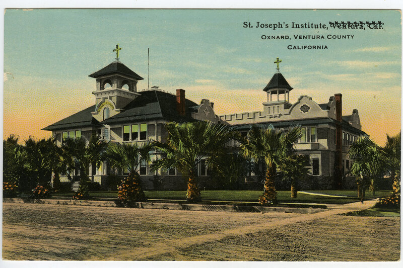 St. Joseph's Institute, Oxnard Postcard