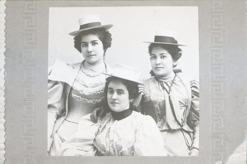 Lucy Ruiz, Petra Ruiz and Lola Rivera