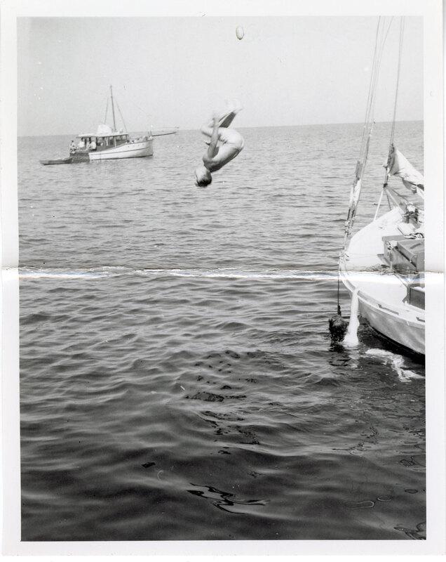 Tumblesault Off Sailboat