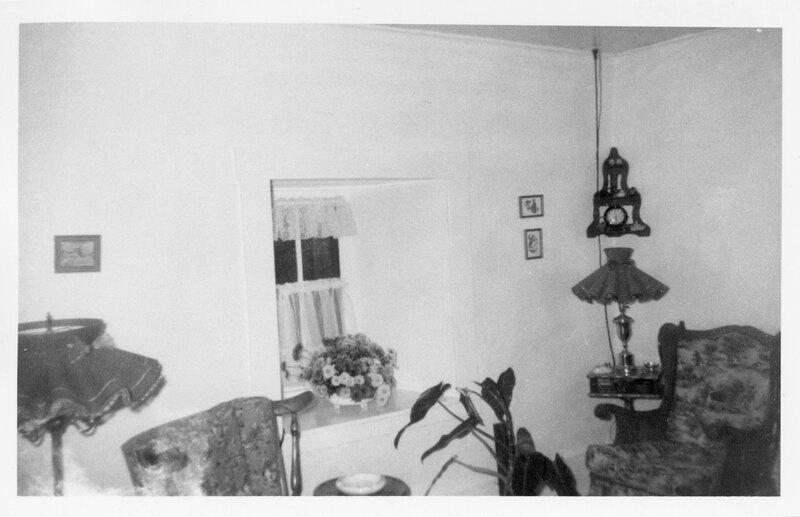 Interior, Caretaker's Cottage, Olivas Adobe