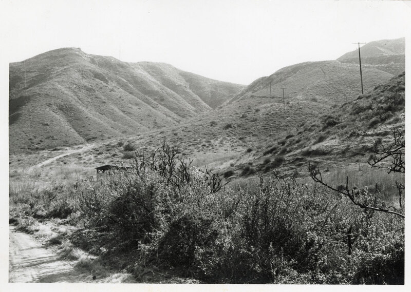 Stagecoach Road on the Conejo