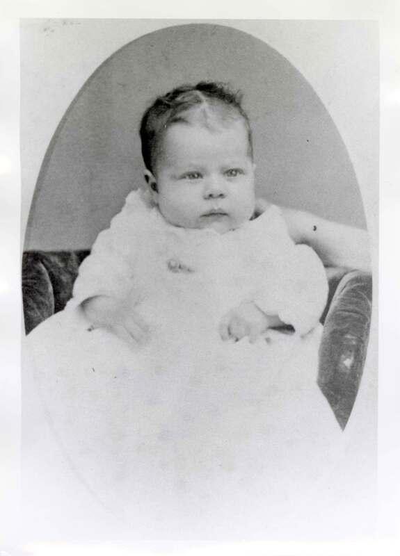 Calvin Day Brewster, Baby Portrait