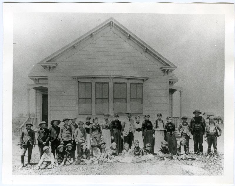 Ocean View School Group Photo