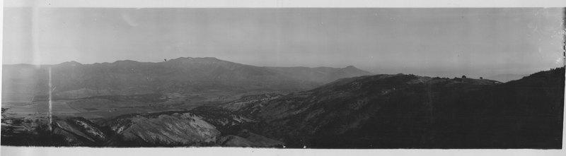 Bird's Eye View from Sulphur Mountain Road