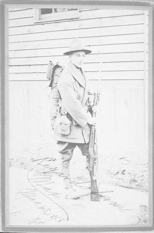 Max Riave in World War I Uniform