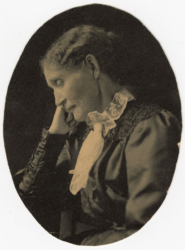 Portrait of Mrs. Theodosia B. Shepherd in Repose