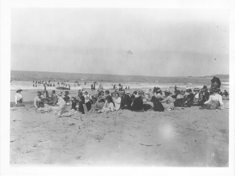Group at Chautauqua on the Beach