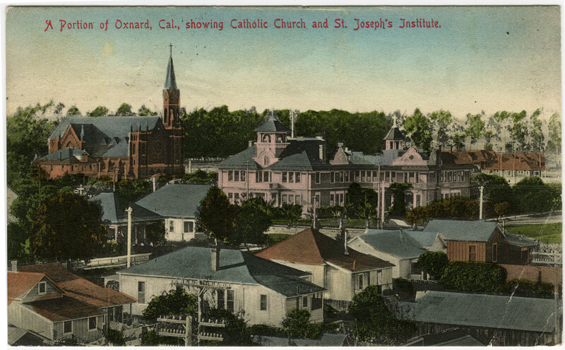 Portion of Oxnard postcard