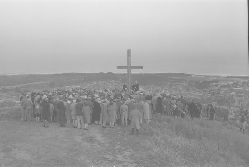 Easter Sunrise Service at Cross on the Hill
