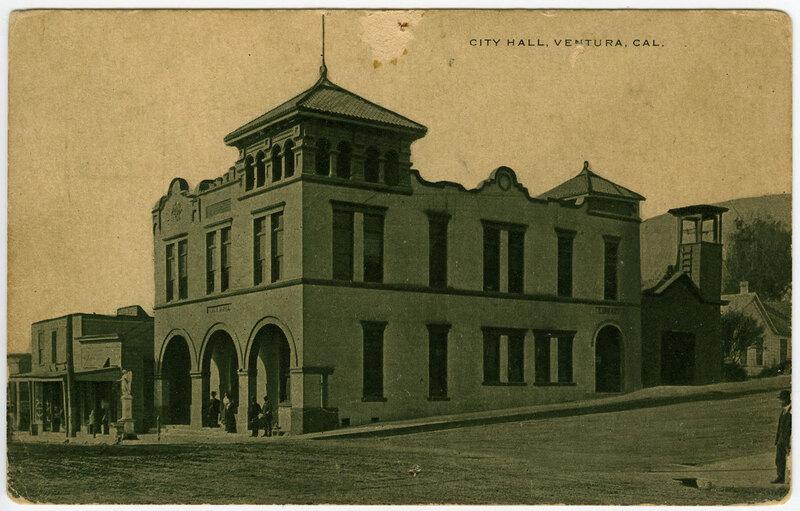 City Hall, Ventura, Post Card