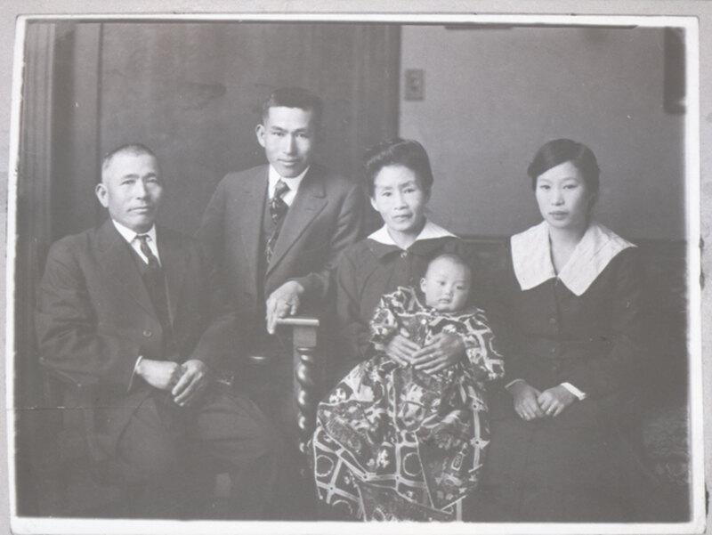 Takasugi Family Portrait, 1920