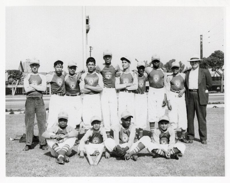 Group Photo, Ventura Police Boys' Club Softball Team