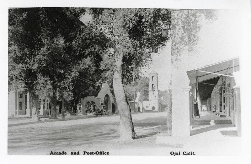 Ojai Arcade and Post Office