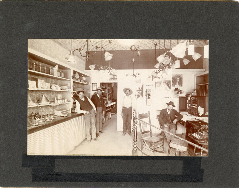Tom Ruiz's Electrical Shop Group Photo