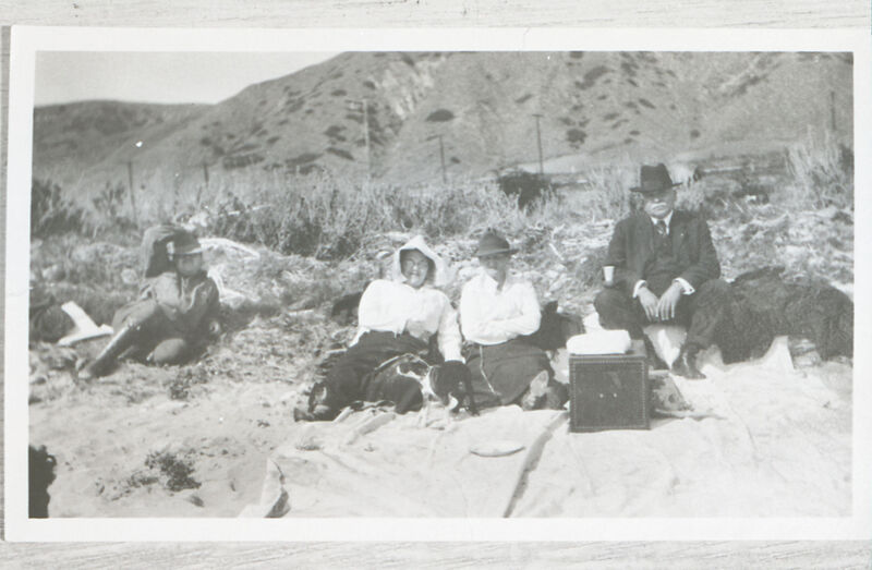 Ulpiano and Minnie Ruiz With Another Couple on Beach