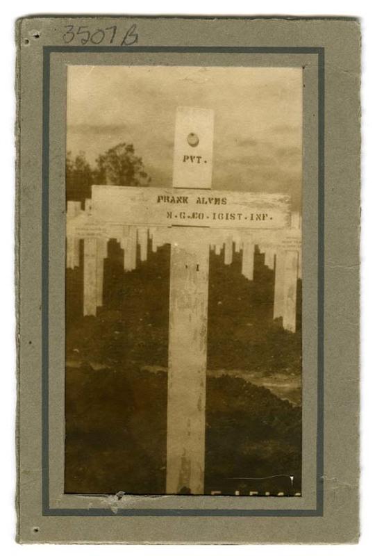 Frank Alves grave marker
