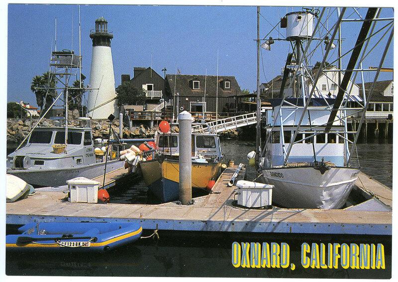 Oxnard, California Postcard