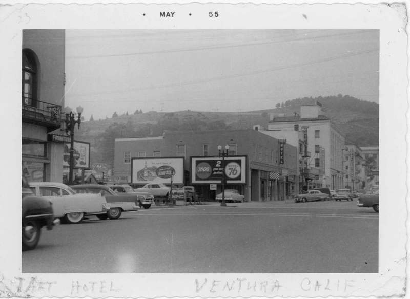 Taft Hotel and California Street