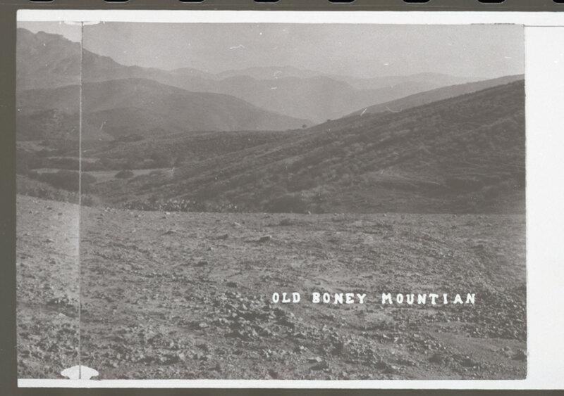 Old Boney Mounty and Surrounding Chaparral image 2
