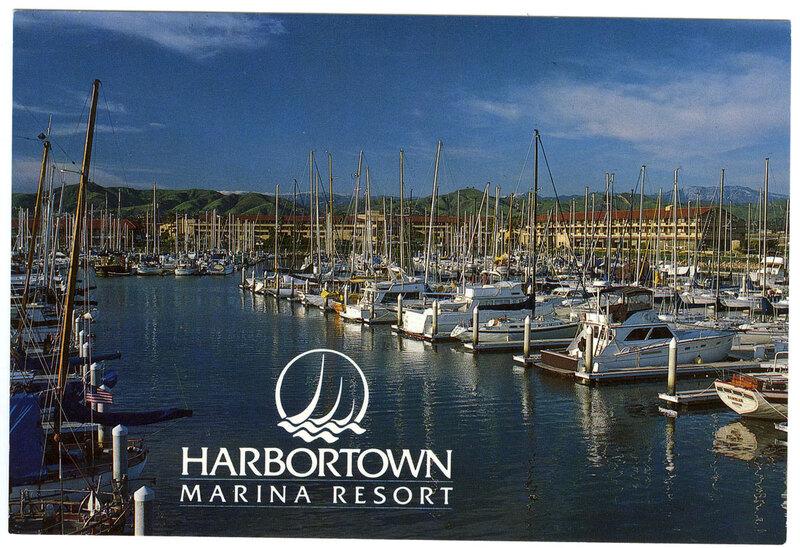 Harbortown Marina Resort postcard