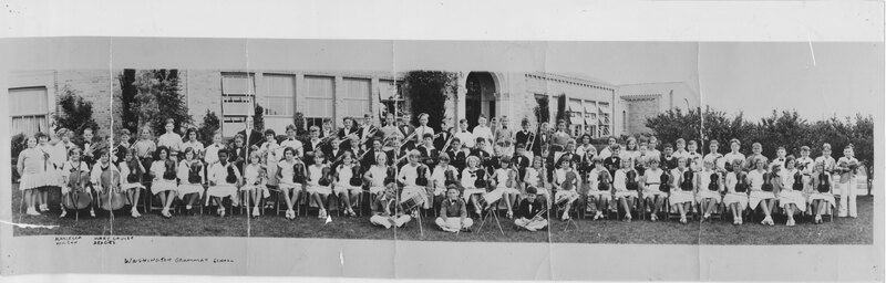 Washington Grammar School Music Students